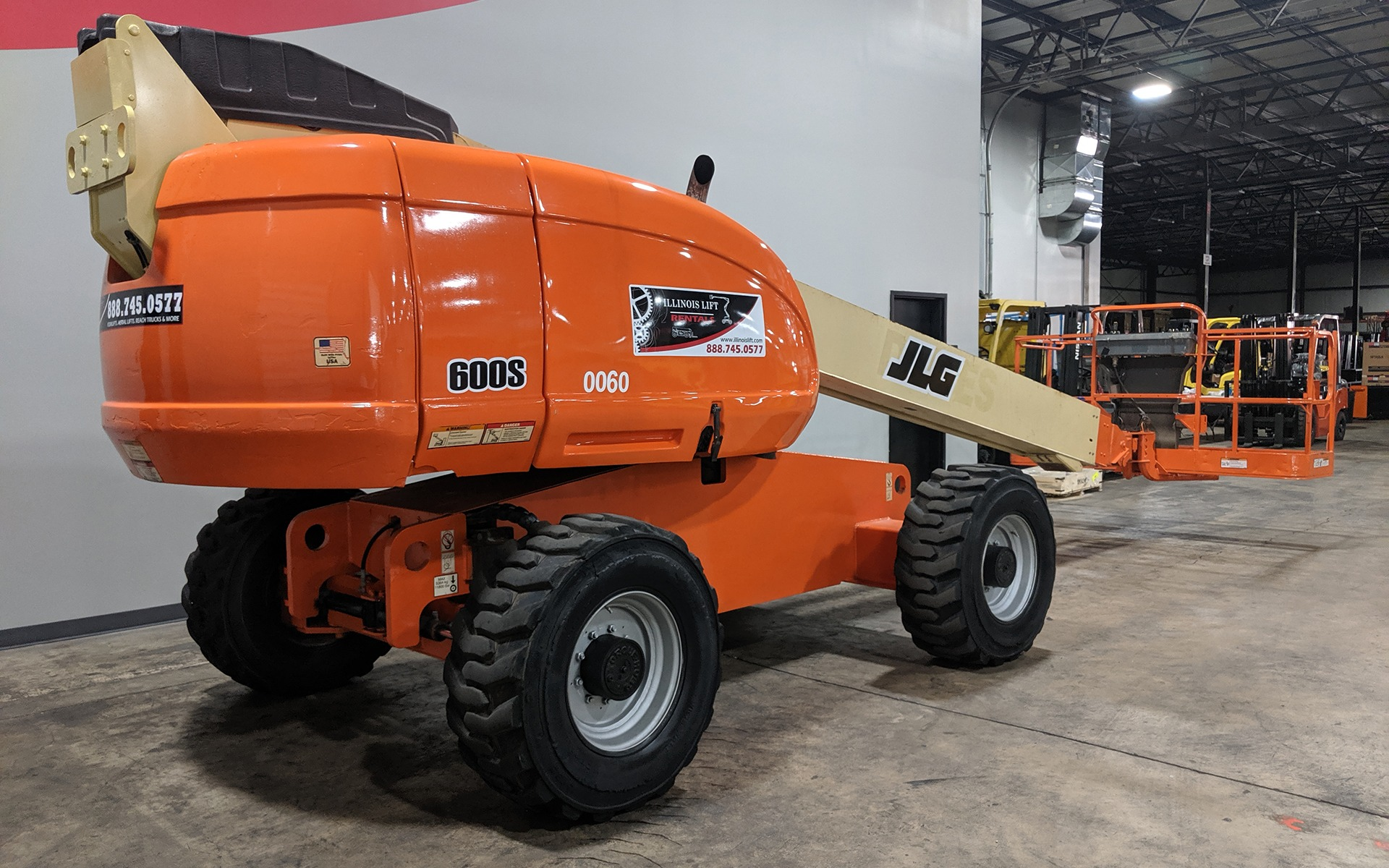 Used 2007 JLG 600S  | Cary, IL