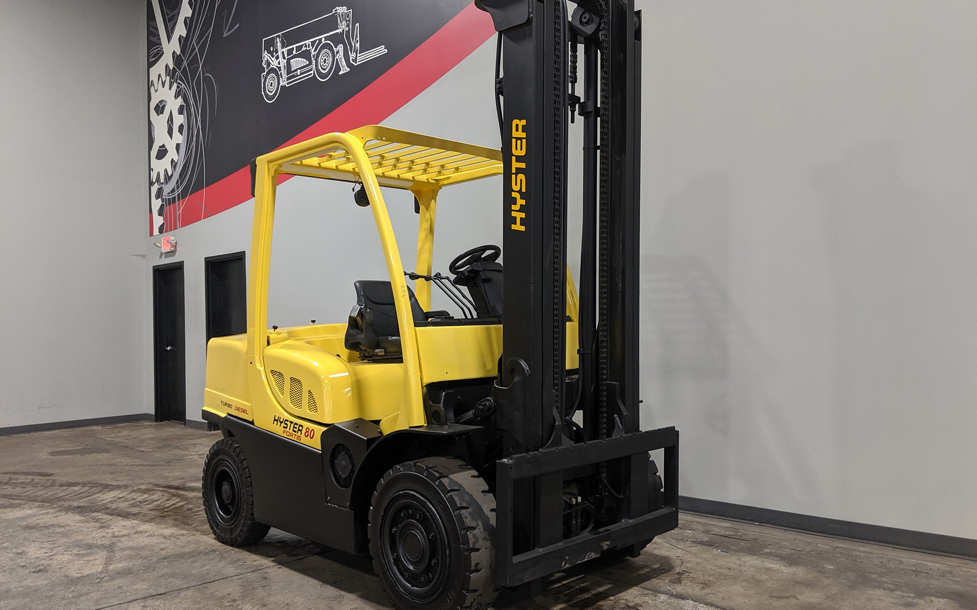 Used 2008 HYSTER H80FT  | Cary, IL