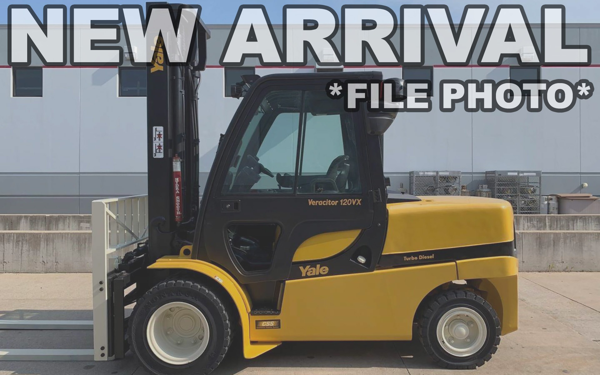 Used 2010 YALE GDP120VX  | Cary, IL