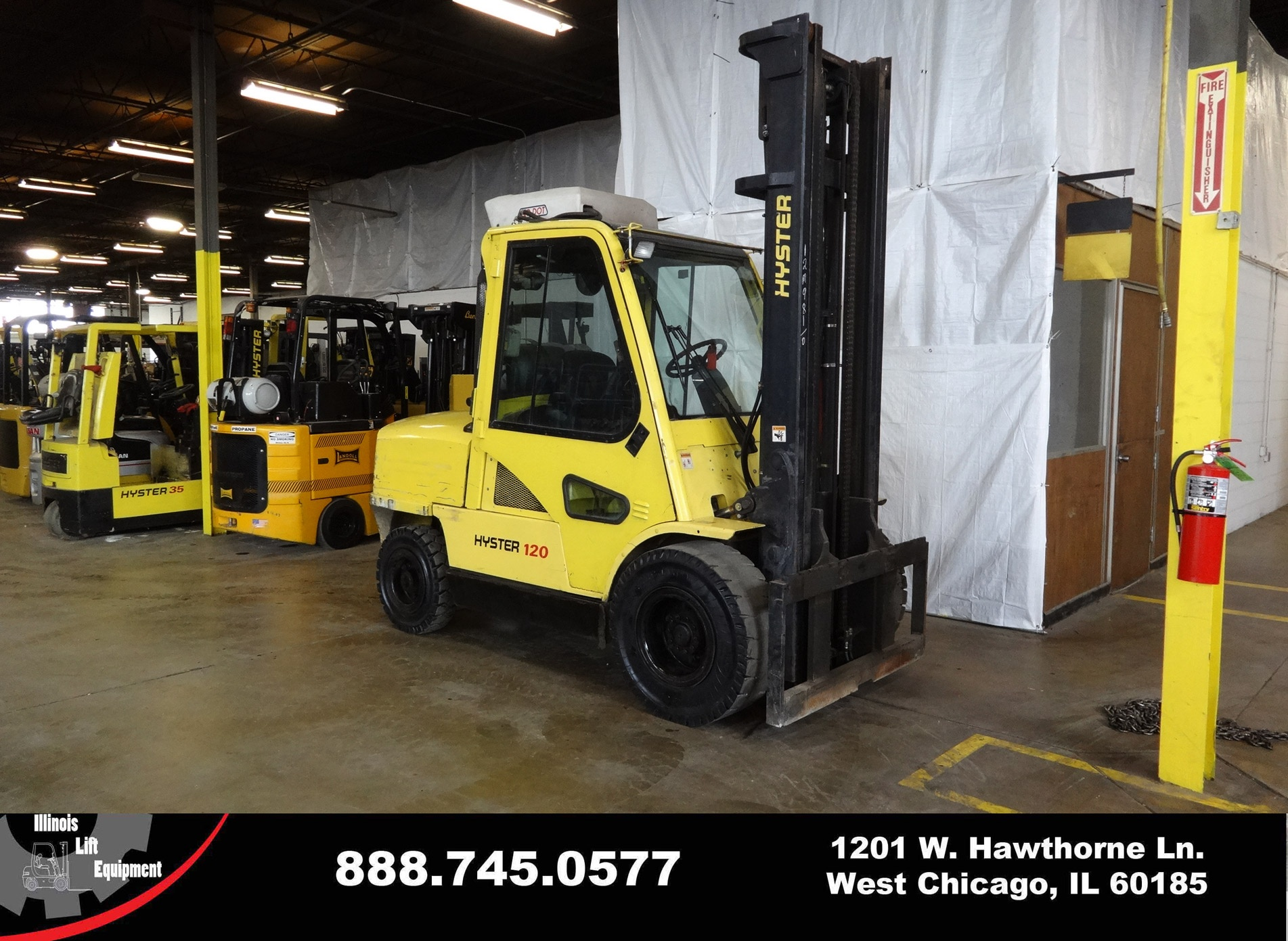 Used 2006 HYSTER H120XM    West Chicago, IL