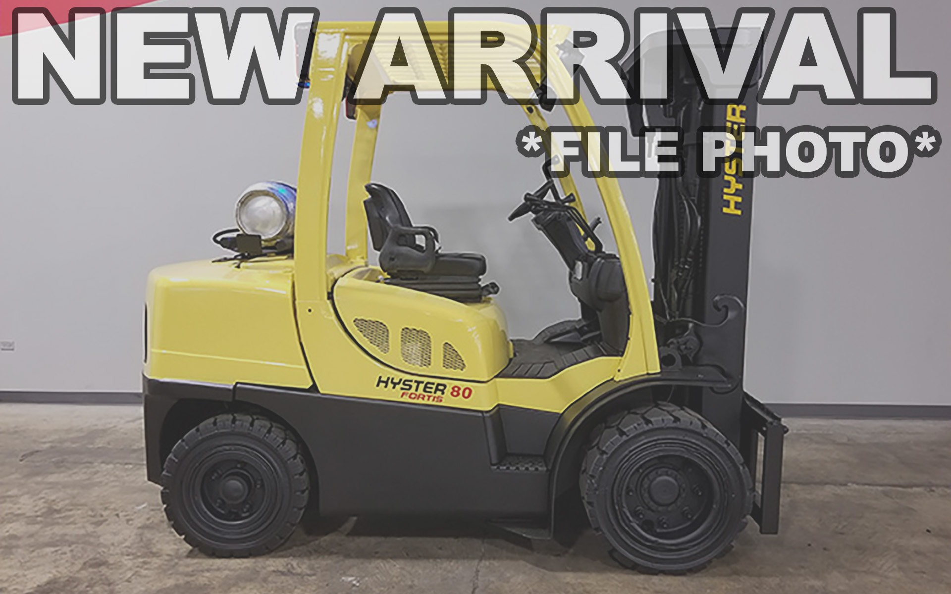 Used 2015 HYSTER H80FT    Cary, IL