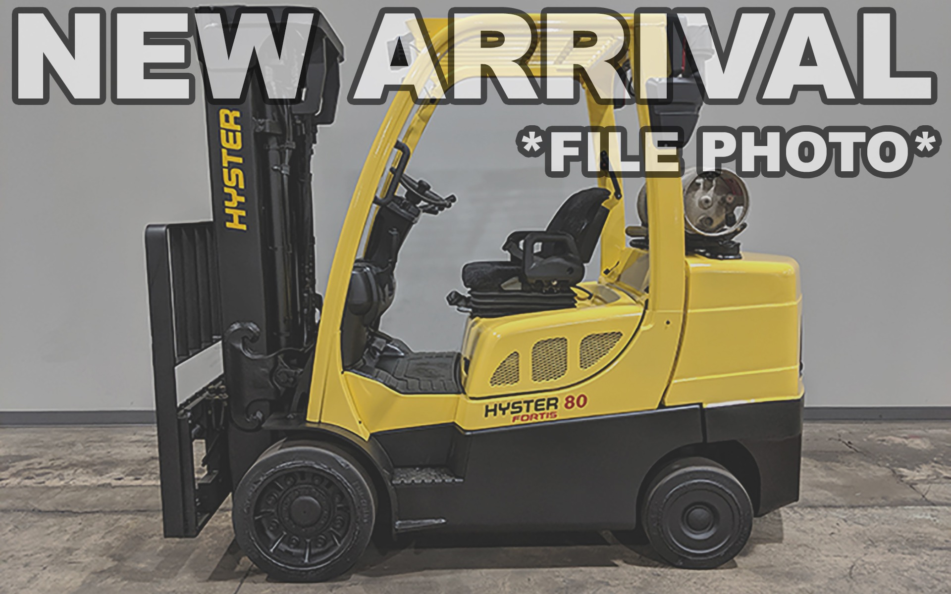 Used 2015 HYSTER S80FT  | Cary, IL