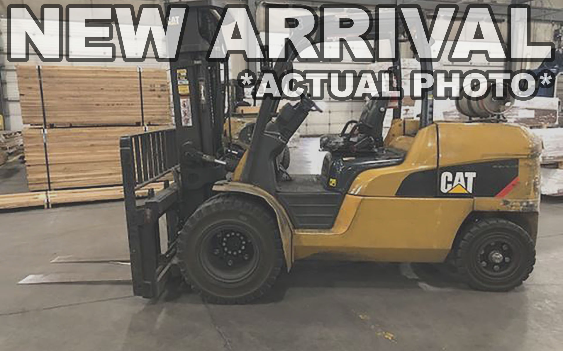 Used 2014 CATERPILLAR GP55N1  | Cary, IL