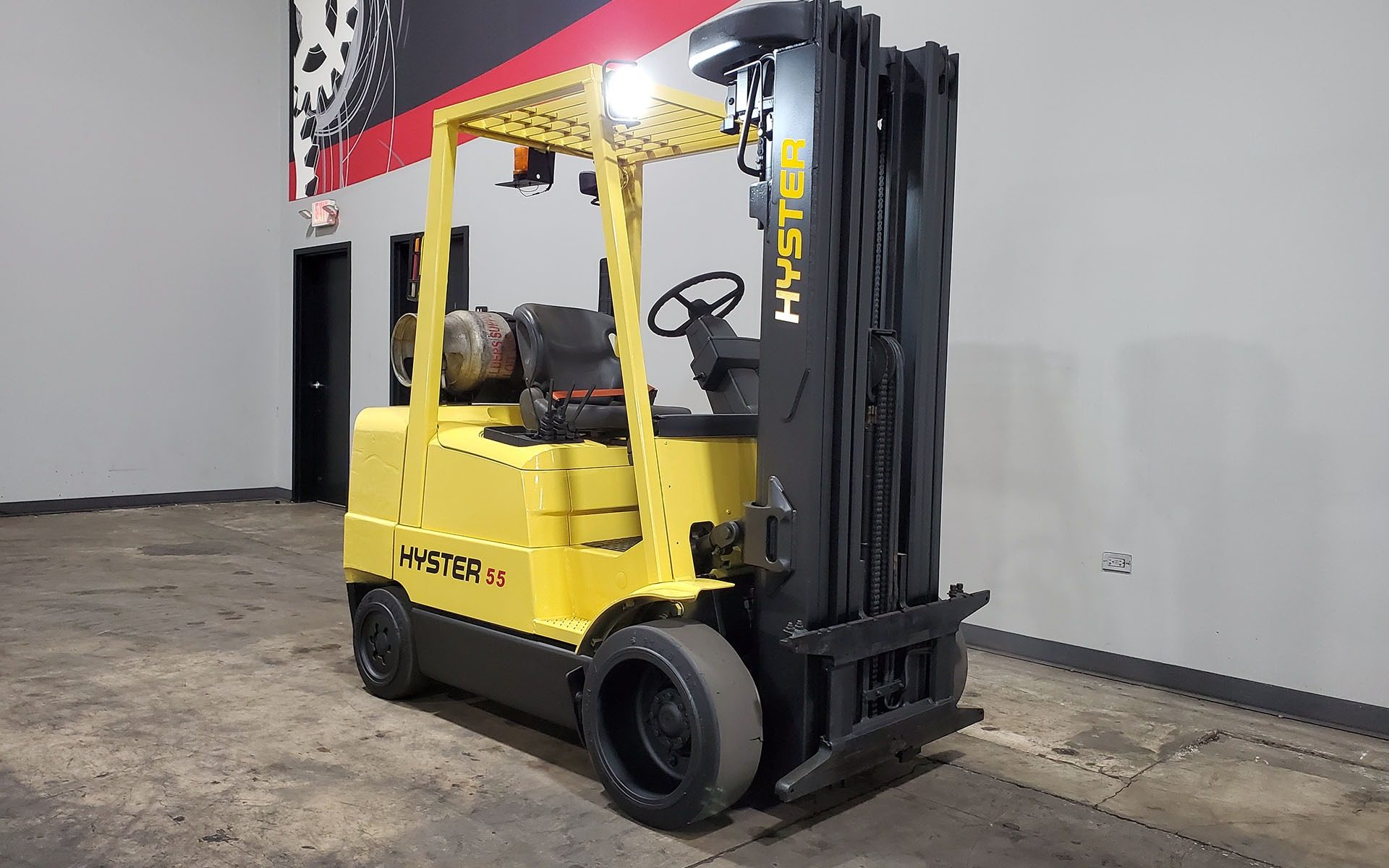 Used 2000 HYSTER S55XM  | Cary, IL