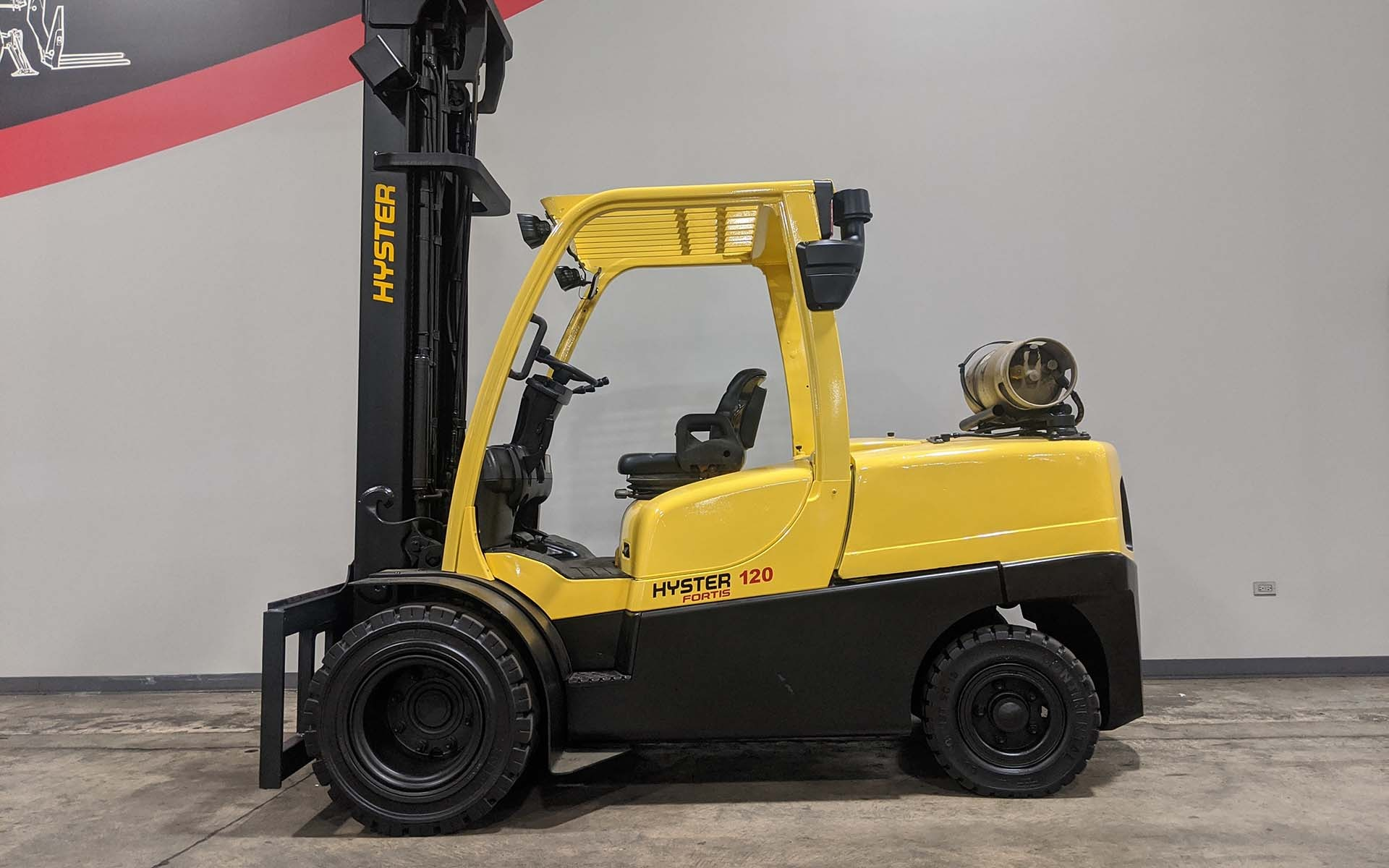 Used 2008 HYSTER H120FT  | Cary, IL