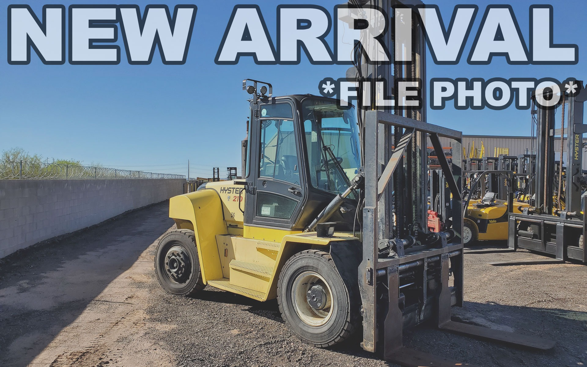 Used 2014 HYSTER H210HD  | Cary, IL
