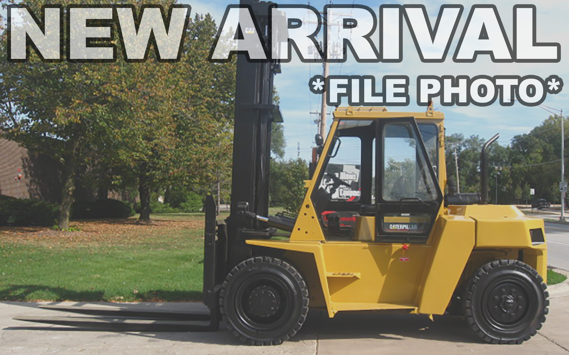 Used 2003 CATERPILLAR DP80  | Cary, IL