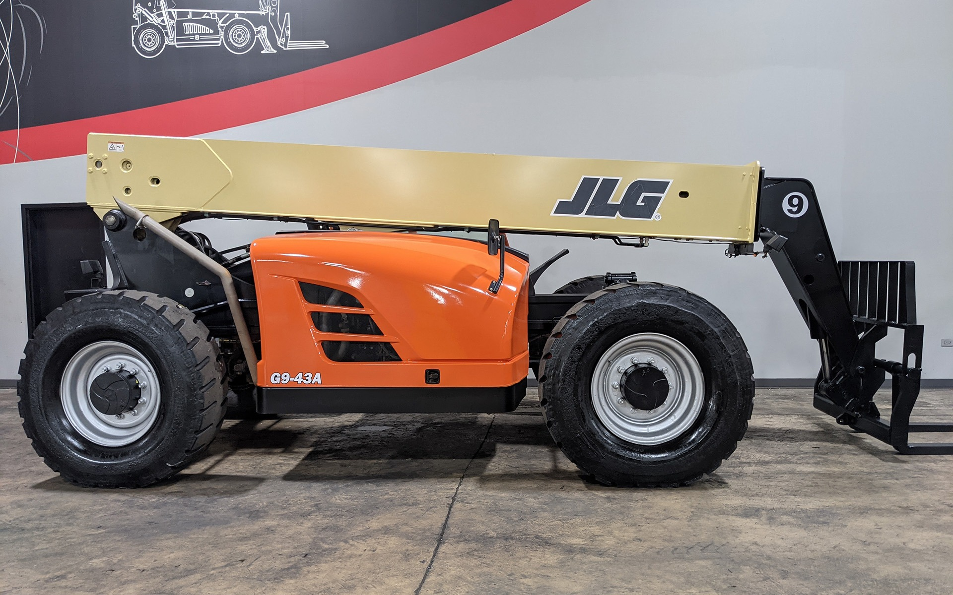 Used 2016 JLG G9-43A  | Cary, IL