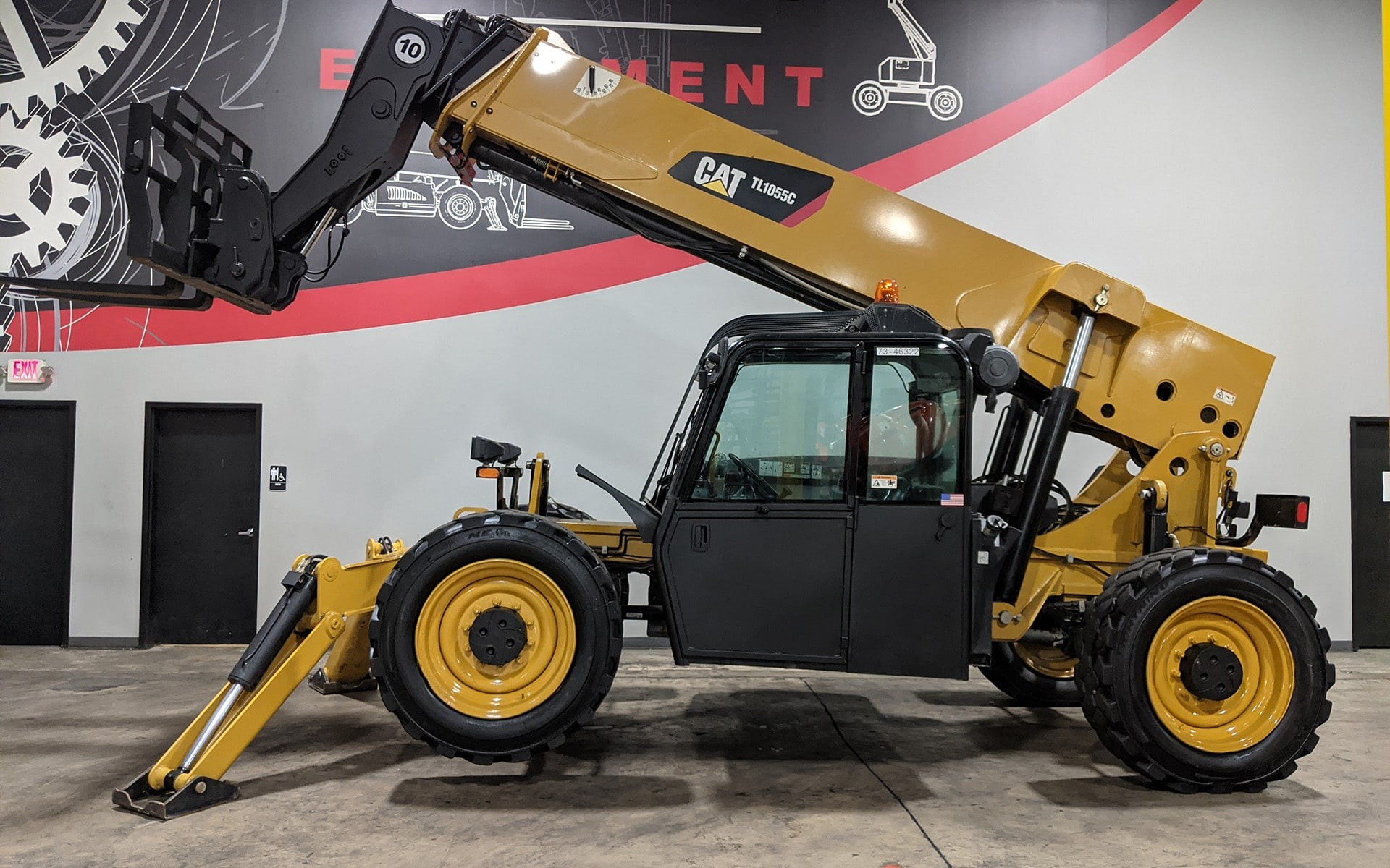 Used 2014 CATERPILLAR TL1055C  | Cary, IL