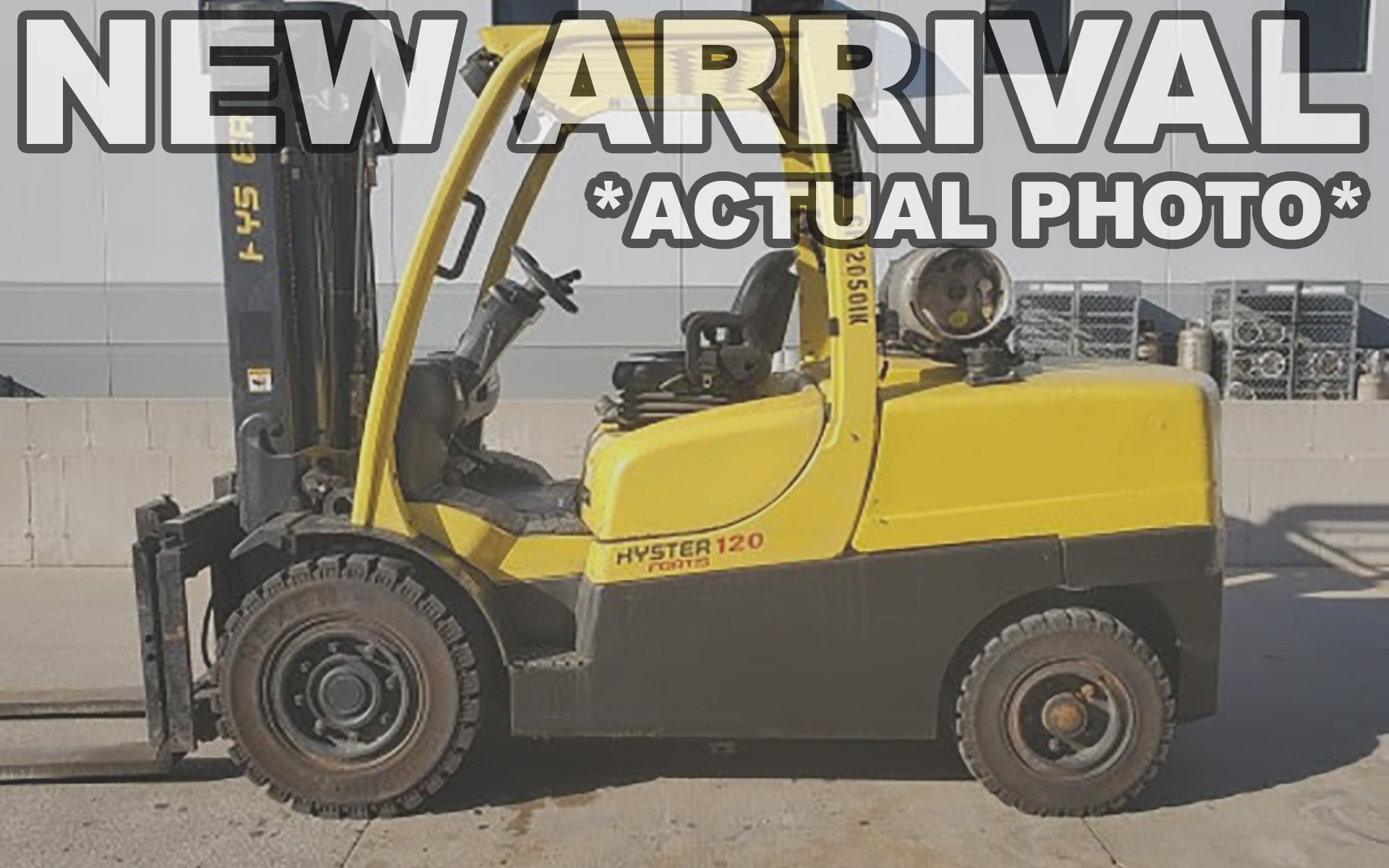 Used 2012 HYSTER H120FT  | Cary, IL