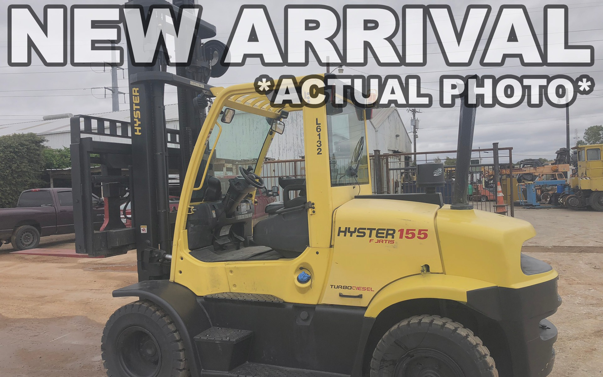Used 2017 HYSTER H155FT  | Cary, IL