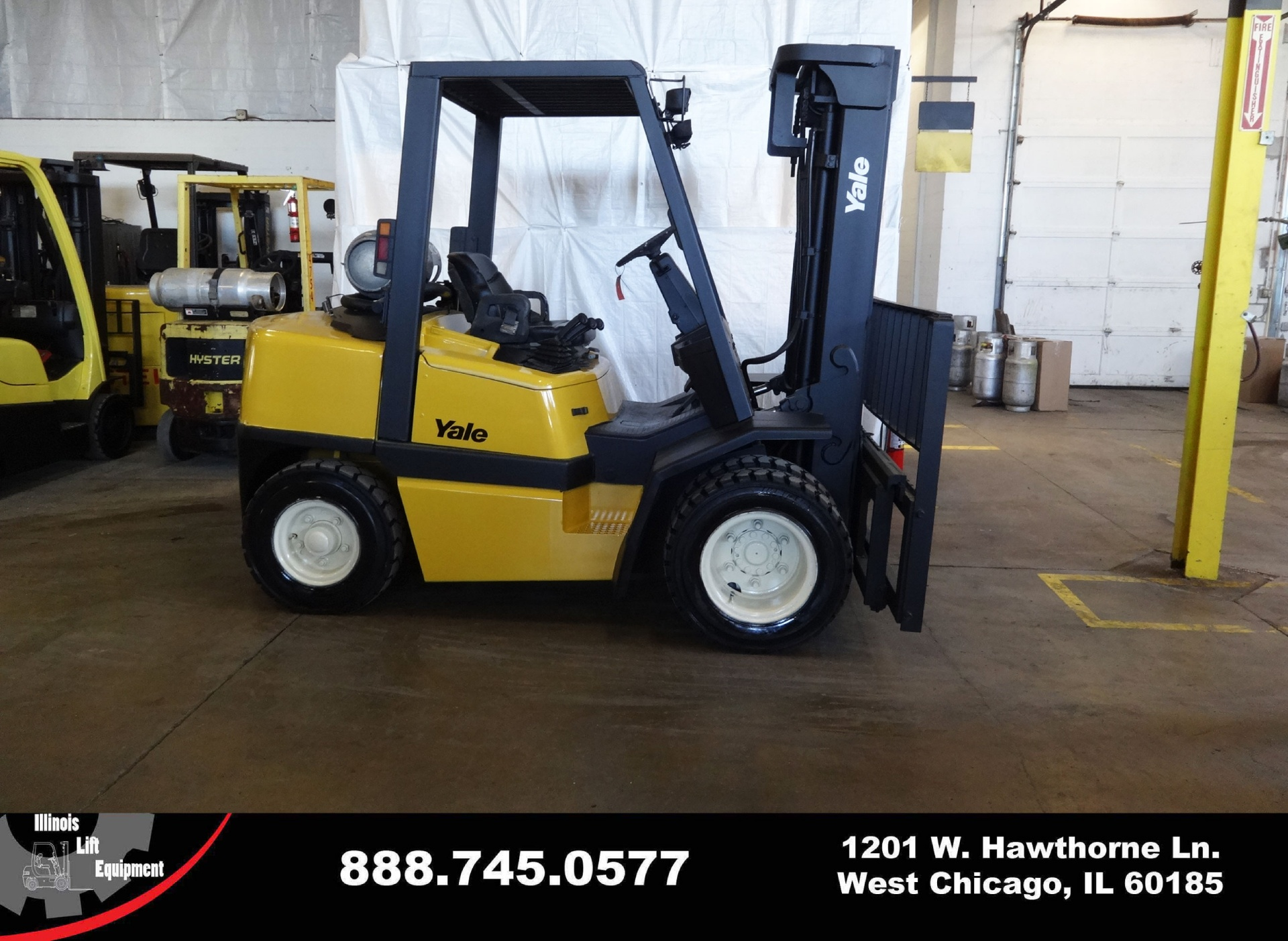 Used 2005 YALE GLP080  | West Chicago, IL