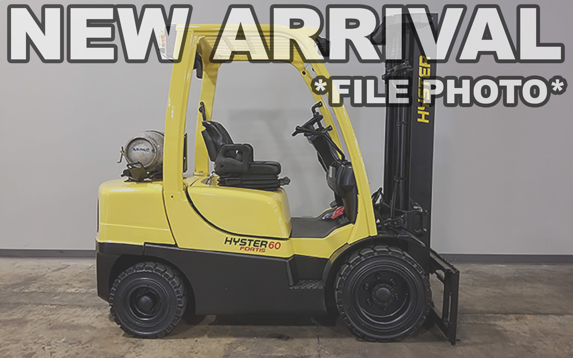 Used 2011 HYSTER H60FT  | Cary, IL