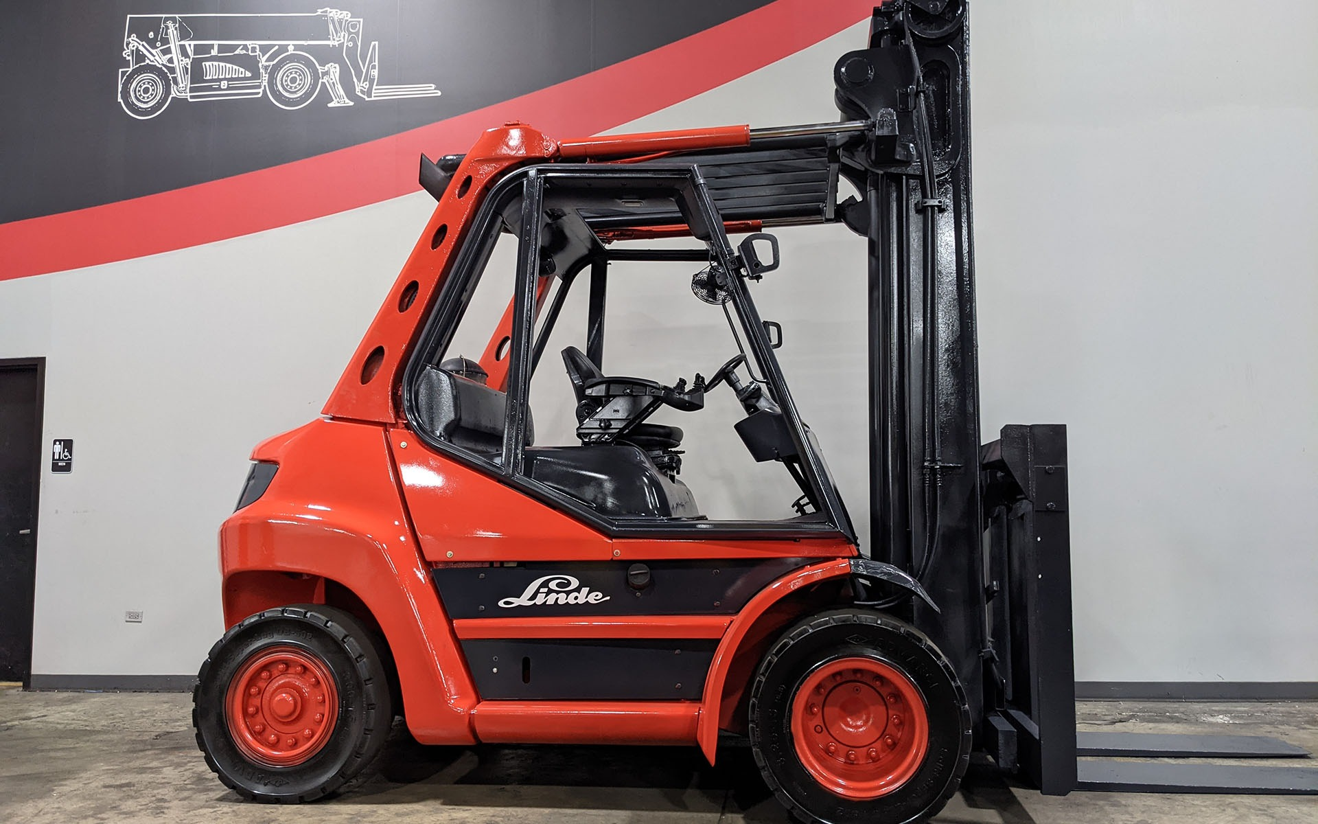 Used 2011 LINDE H70D    Cary, IL