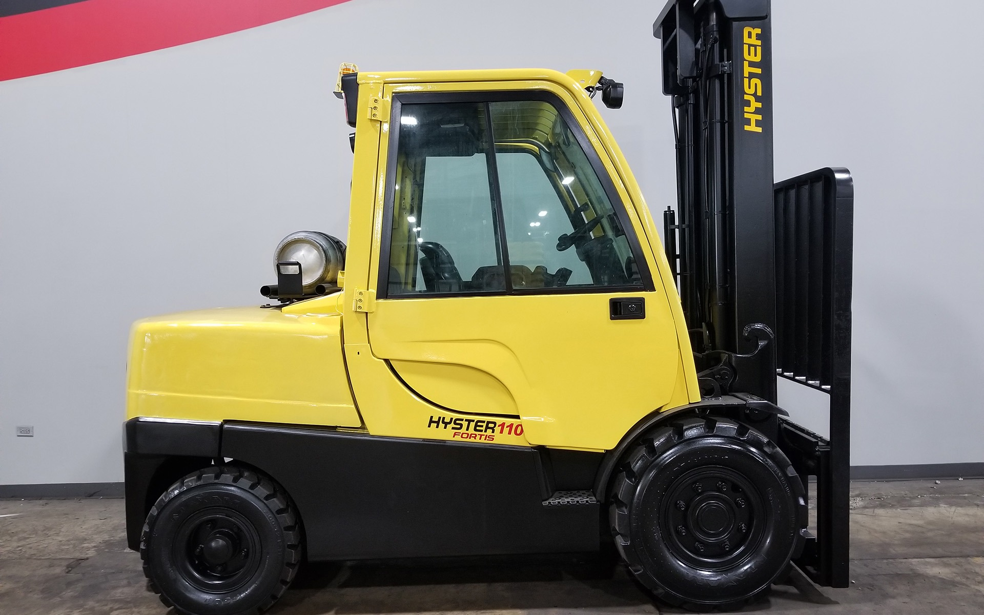 Used 2007 HYSTER H110FT  | Cary, IL