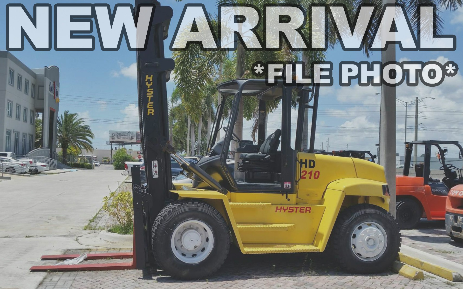 Used 2004 HYSTER H210HD  | Cary, IL