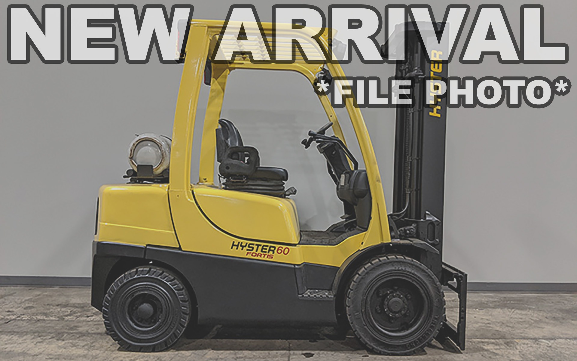 Used 2017 HYSTER H60FT  | Cary, IL