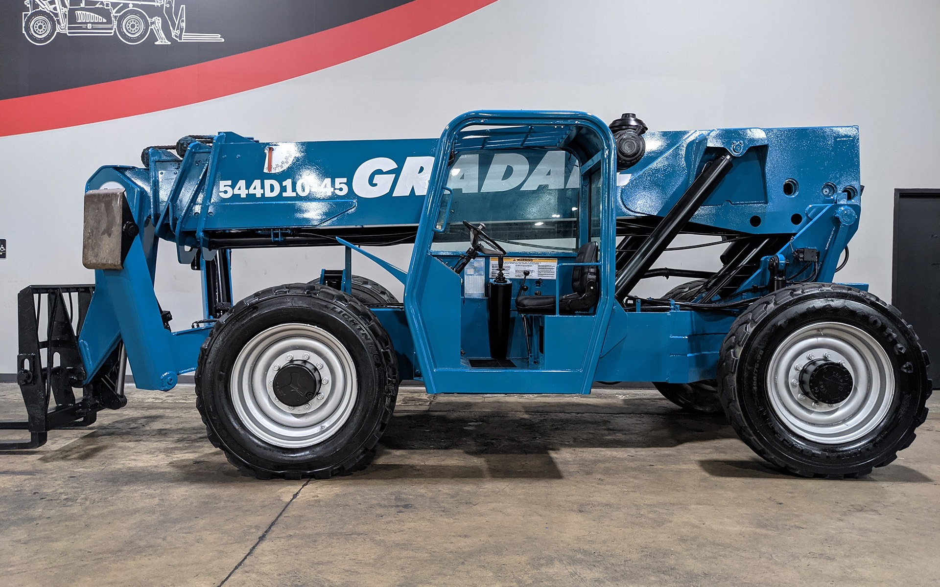Used 2002 GRADALL 544D-10    Cary, IL