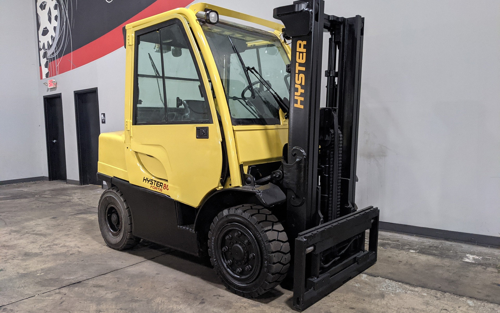 Used 2008 HYSTER H80FT    Cary, IL