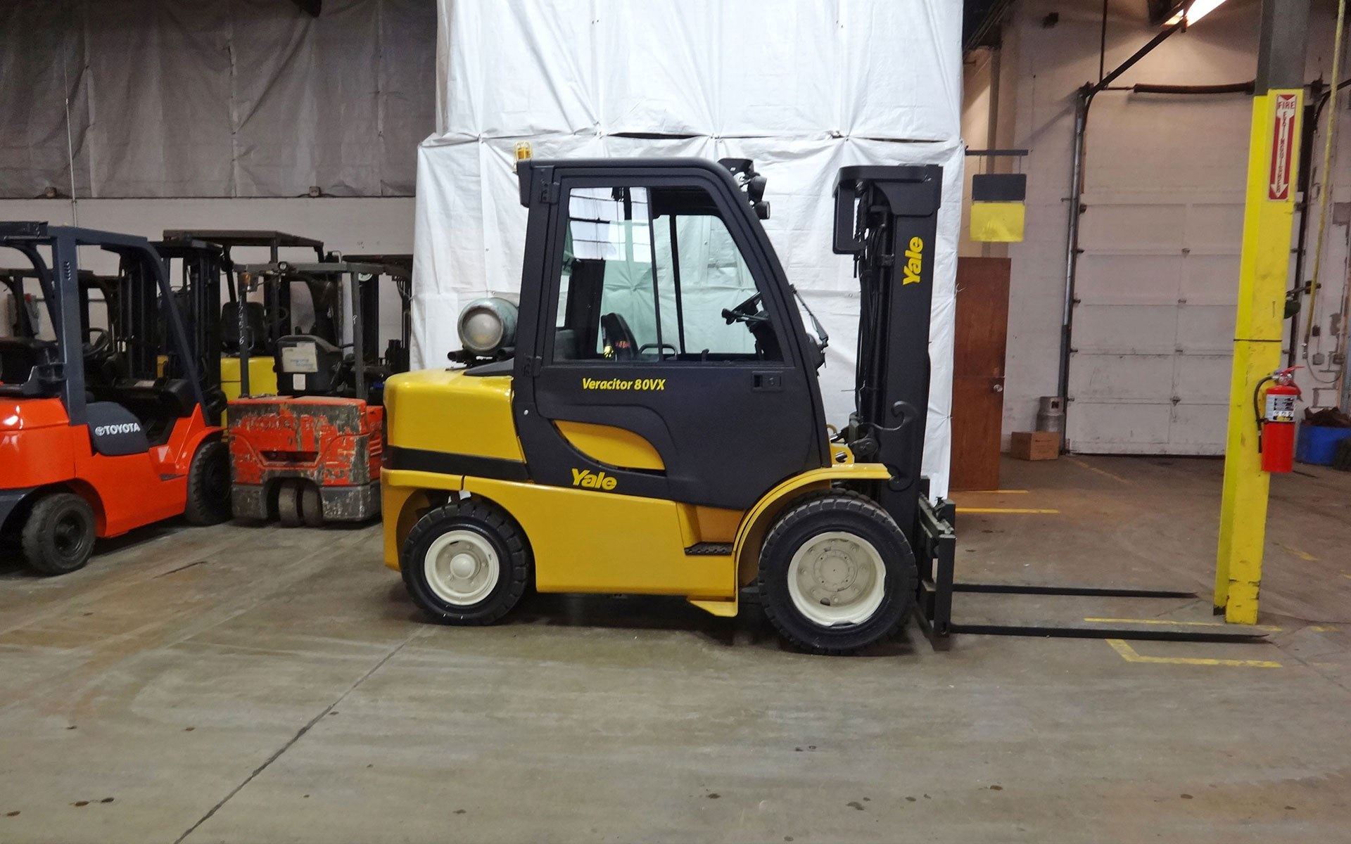 Used 2006 YALE GLP080VX  | West Chicago, IL
