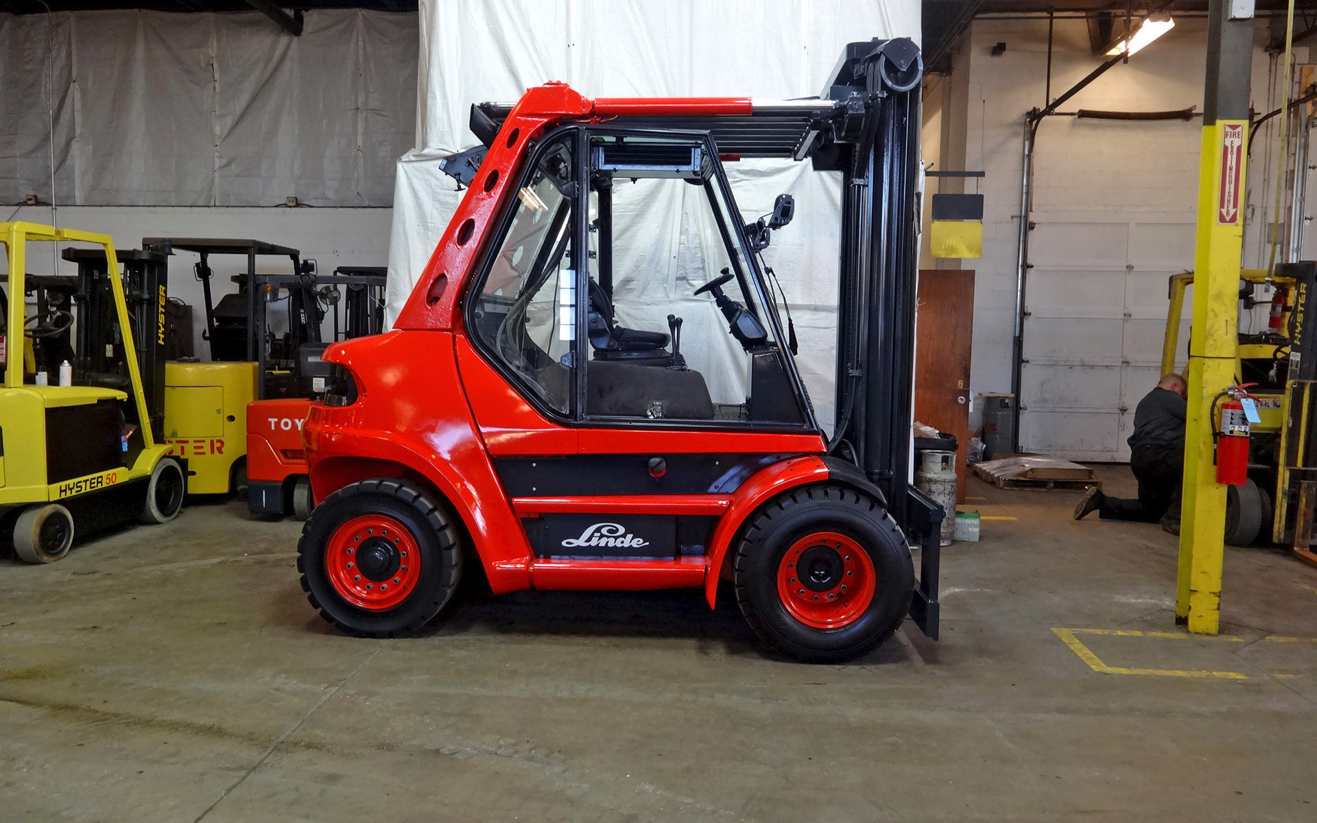 2004 Linde H80d Stock 2316 For Sale Near Cary Il Il Linde Dealer