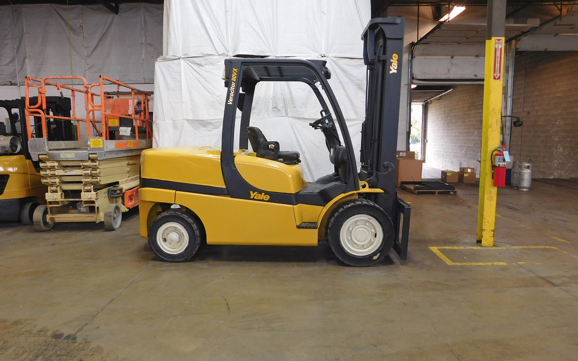 Used 2008 YALE GDP110VX  | Cary, IL