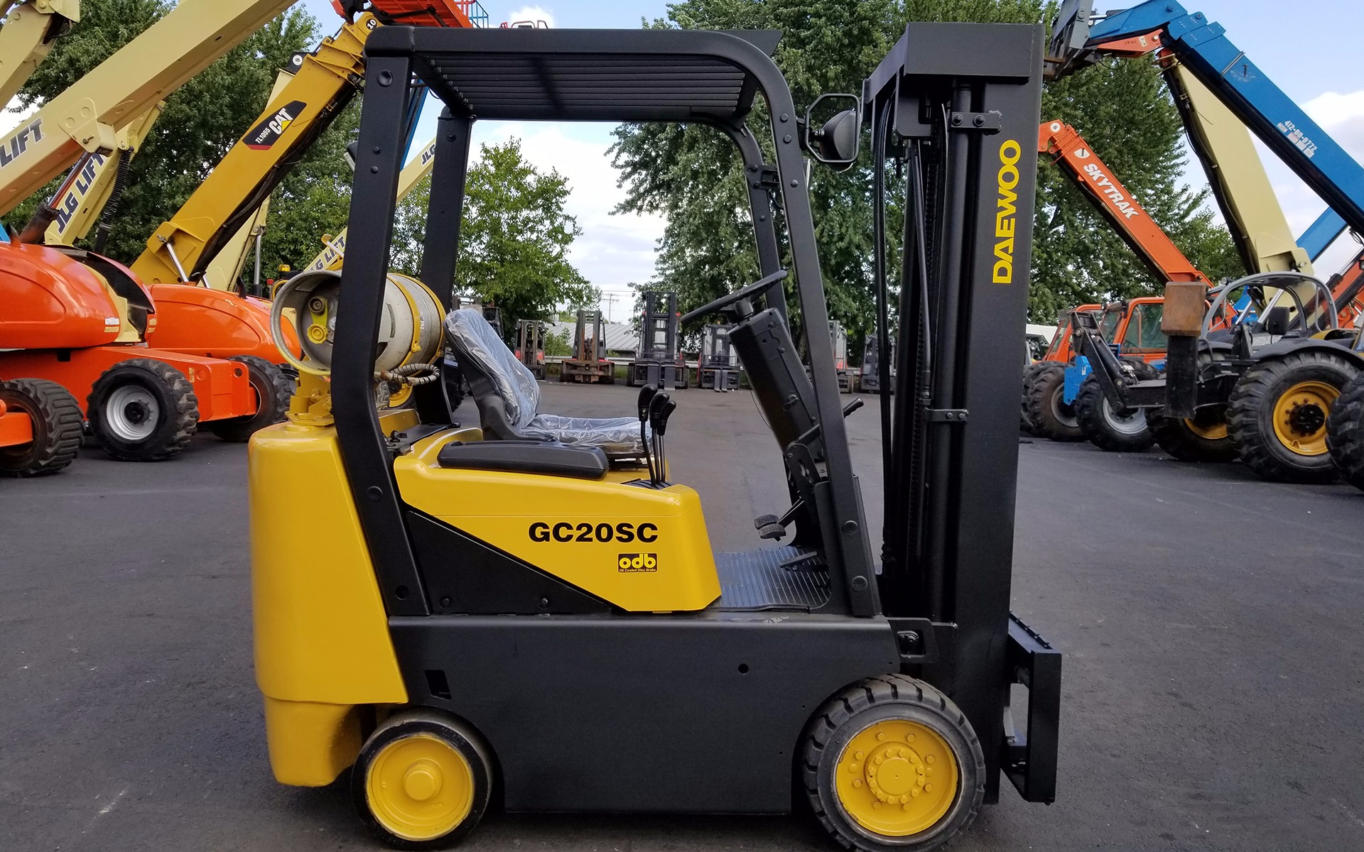 2004 DAEWOO GC20SC-2 Stock # 3068 for sale near Cary, IL | IL DAEWOO